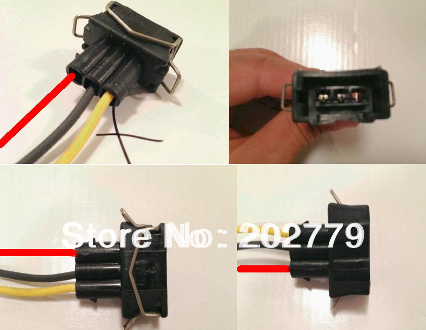 popular pigtail harness connector buy cheap pigtail harness longyue 10pcs fuel injection connector pigtail harness for bobina v w sedan golf y jetta 15cm