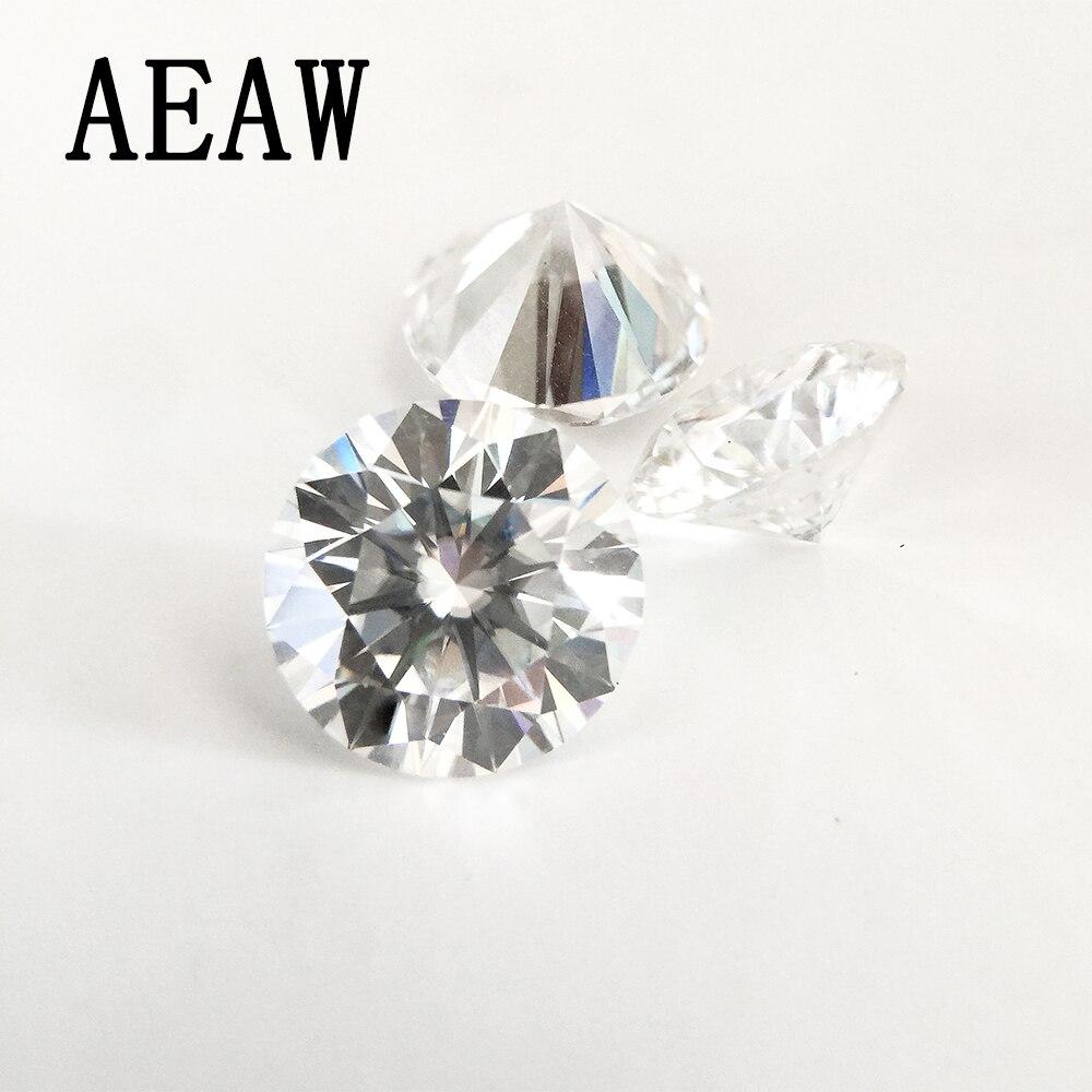 Round Brilliant Cut 0.2ct Carat 3.5mm F Color Moissanite Loose Stone VVS1 Excellent Cut Grade Test Positive Lab Diamond