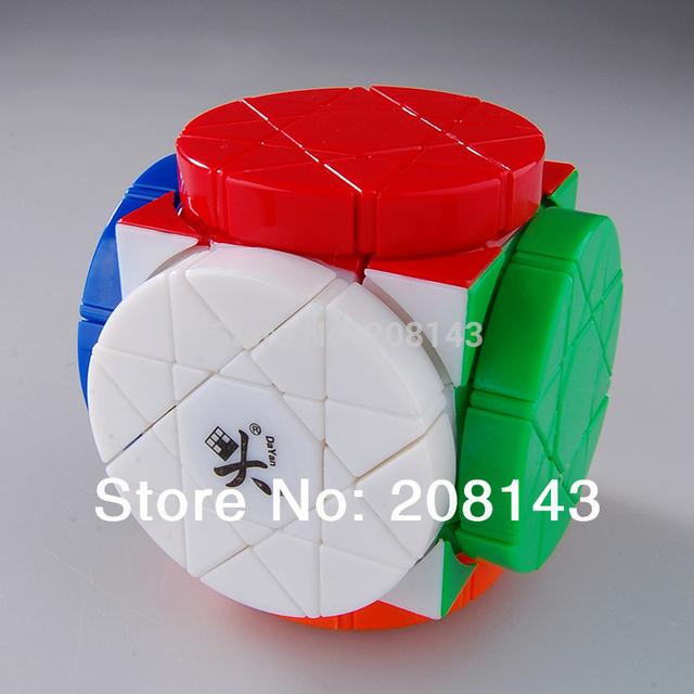 ^ _ ^ envío gratis! DAYAN rueda de sabiduría cubo mágico STICKERLESS PUZZLE