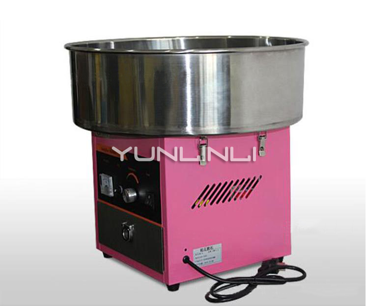 220V Cotton Floss Machine Mini Cotton Candy Machine Commercial Cotton Candy Maker Full-automatic Candy Floss Maker CH-6 цена