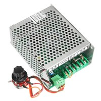 AC 110 220V Power Supply Motor Speed Governor Controller for ER11 Chuck CNC 500W Spindle Motor New