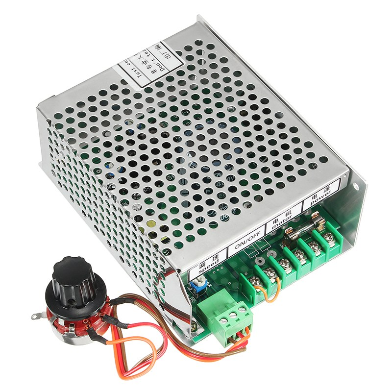 New AC 110-220V Power Supply Speed Governor for ER11 Chuck CNC 500W Spindle Motor 0 5kw air cooled spindle motor er11 chuck cnc 500w spindle dc motor 52mm clamps power supply speed governor for diy cnc
