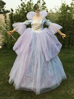 New Women Adult Custom Made Princess Cinderella Online Fairy dress For Party Long Godmother Dress Plus Size