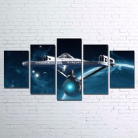 Pictures Wall Art Style Frame Living Room HD Printed 5 Pieces Abstract Canvas Painting Home Decor