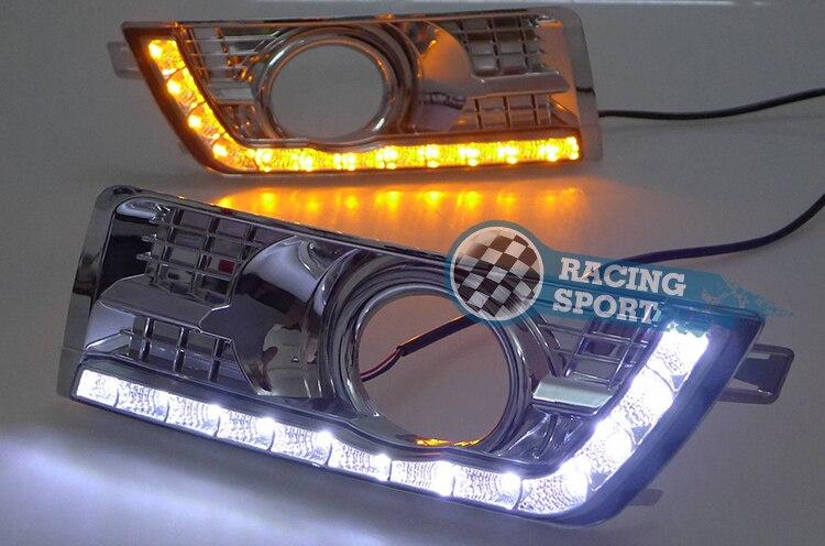 Daytime Running Light Drl Headlight For Cadillac Srx 2012