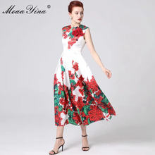 Женское платье с аппликацией moaayina подиумное дизайнерское