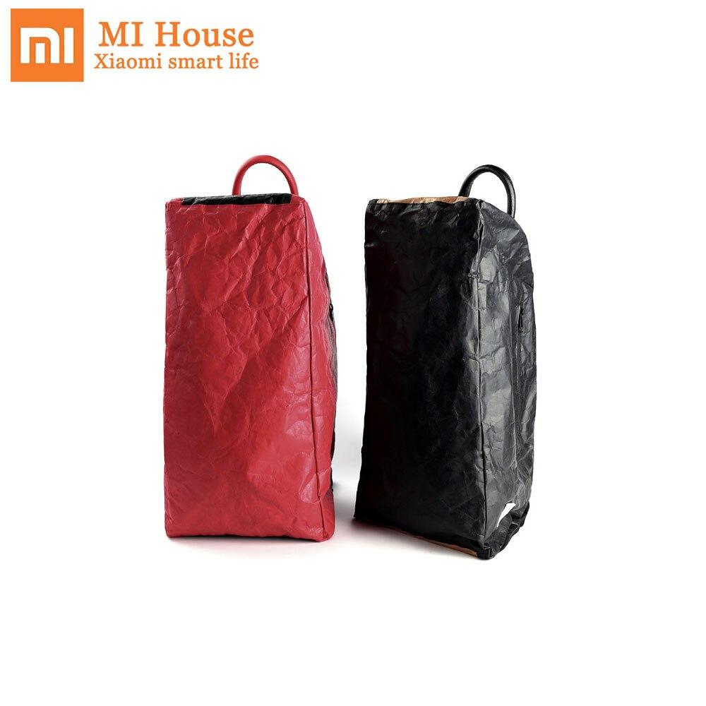 Xiaomi Chainlink Zhizao Dupont sac en papier sac à dos sac d'école grande capacité étanche vêtements chaussures organisateur sac pour voyage