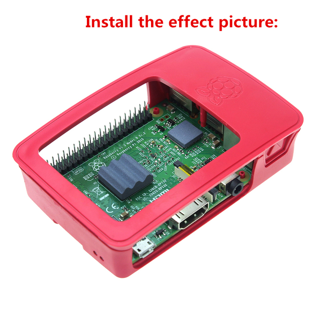 Official Raspberry Pi 3 ABS Case