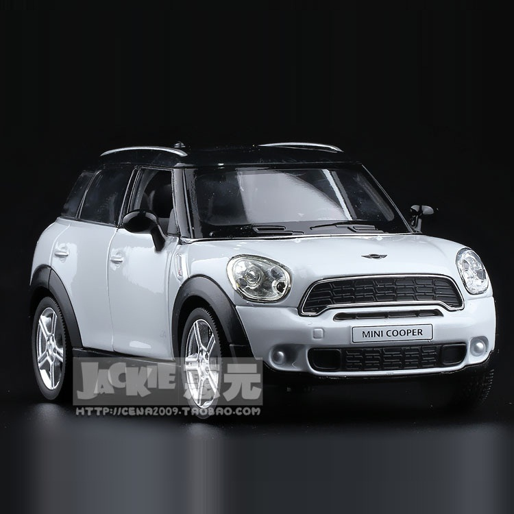 High Simulation Exquisite Diecasts & Toy Vehicles: RMZ City Car Styling MINI 1:36 Alloy Diecast Car Model Pull Back Cars Doors Openable