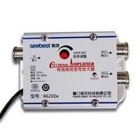 Dlenp кабель catv усилитель телевизионного сигнала усилитель антенны Усилитель набор сплиттеров широкополосное домашнее телевизионное оборуд...