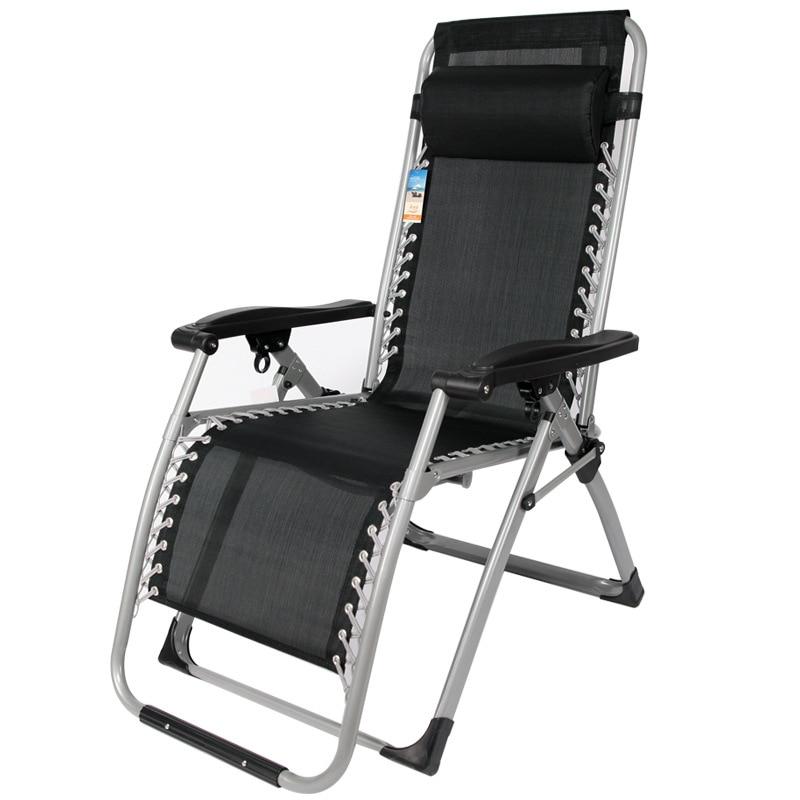Tube Lunch Break Chairs Folding Beach Leisure Chairs