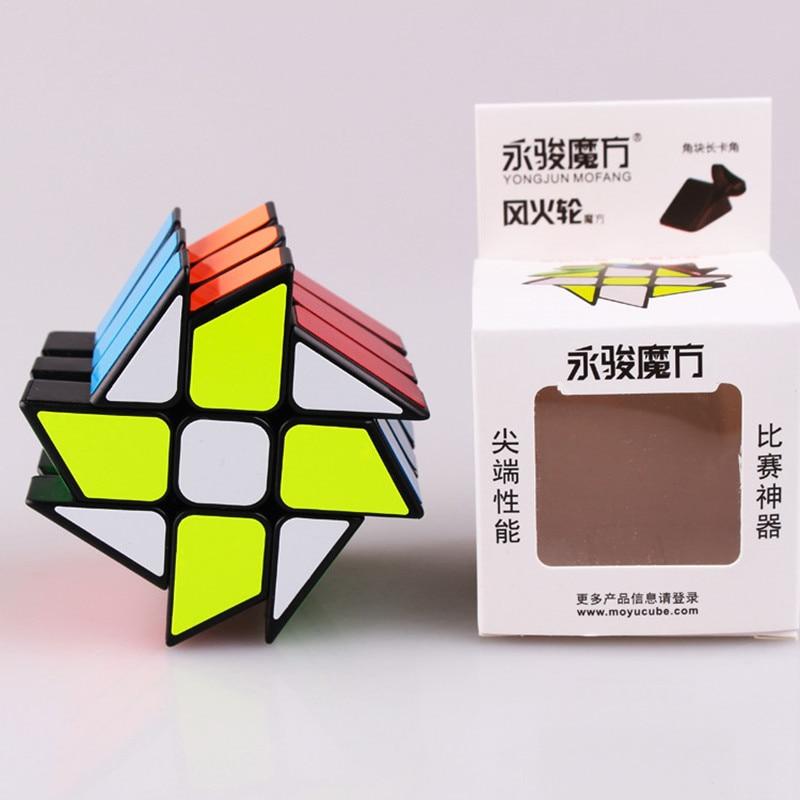 Izvorni YJ vjetar kotača kocka magija brzina puzzle kocka ABS - Igre i zagonetke - Foto 3