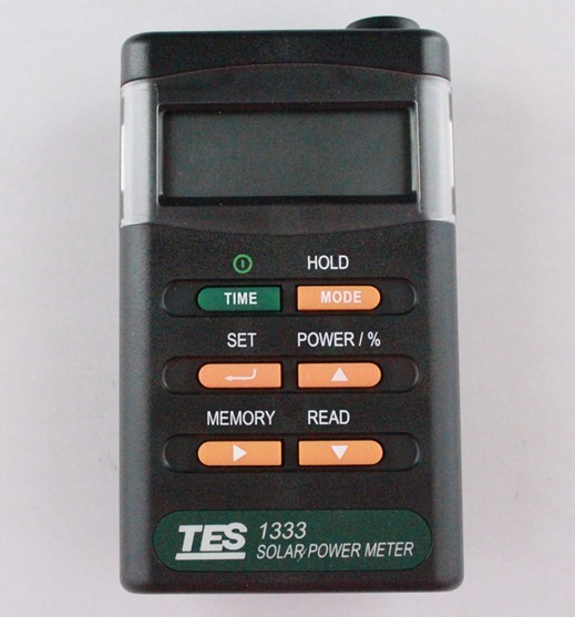 TES-1333 Solar Power Meter Digital Radiation Detector Solar Cell Energy Tester,Cheap shipping sm206 solar power meter for solar research