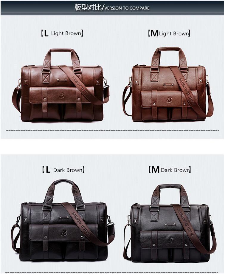 HTB1XoUYLHvpK1RjSZFqq6AXUVXa3 New Luxury Cow Genuine Leather Business Men's Briefcase Male Shoulder Bag Real Leather Men Messenger Bag Travel Computer Bag