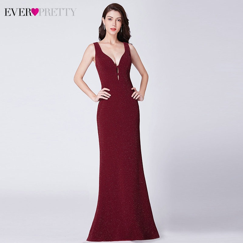 2f869364781ce Lace Mermaid Prom Dresses Long 2019 Ever Pretty EP08838 Christmas ...
