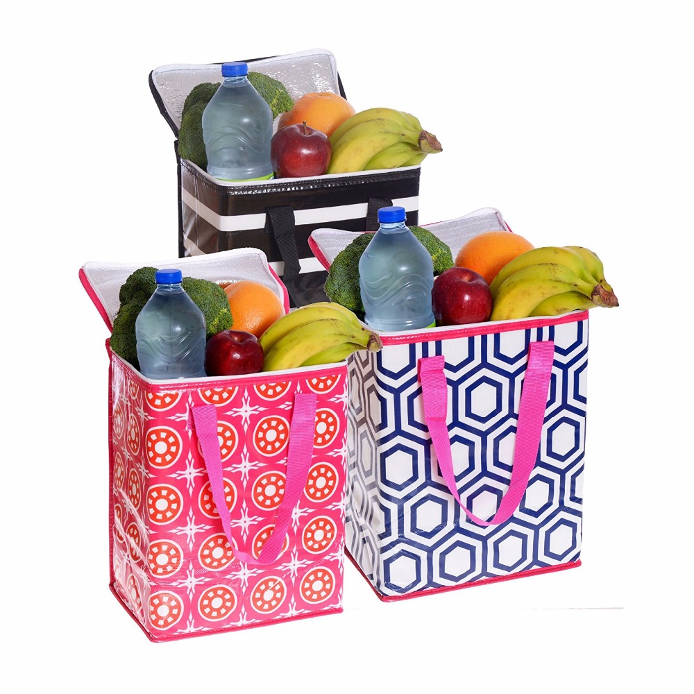 Custom bag Promotional PP nonwoven Grocery Cooler Bag