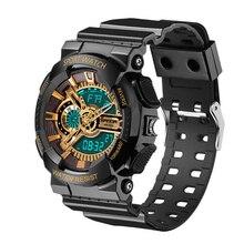 Relogio masculino Nuevo LED Digital Relojes de Pulsera de Los Hombres Dial de Tres Agujas Del Reloj Para Niños de La Escuela Al Aire Libre horloges vrouwen