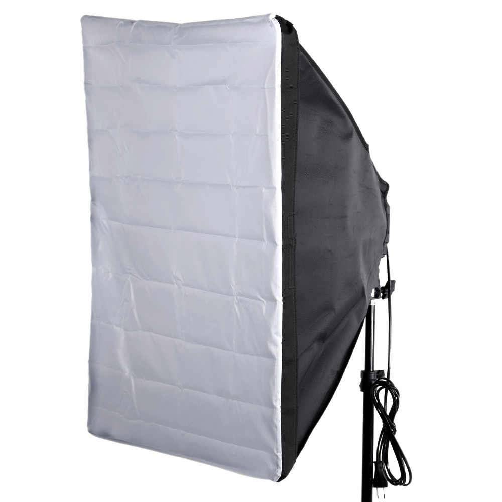 "Portátil 50*70 cm/20 ""* 28"" Umbrella Softbox Refletor para Flash Externo Cobertura Branca"