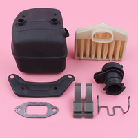 Exhaust Muffler Bracket Gasket Air Filter Intake Manifold For Husqvarna 362 365 371 372 Chainsaw Part