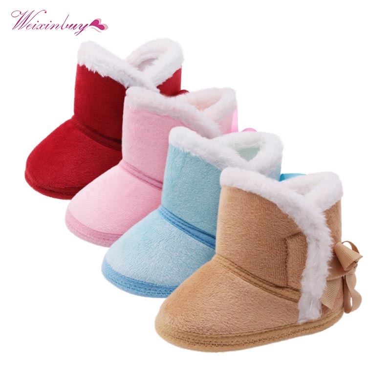 Winter Warm Baby Boy Shoes Knitted Sweaters Boots Booty Crib Babe Girls Toddler Boy Shoe For 0-1 Year