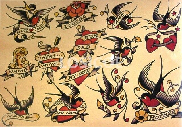Large Vintage Tattoos ...