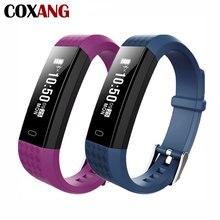 COXANG ID115 Pulseira Inteligente Atividade Rastreador de Fitness Heart Rate Monitor Cardiaco Veryfit id 115 Esporte Pulseira Faixa de Relógio Inteligente