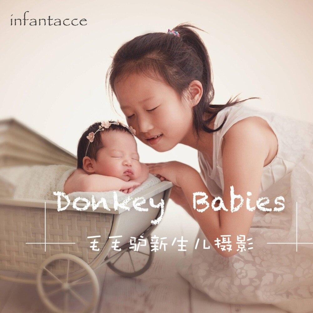 ręcznie robiona pałąk dla dziecka, noworodka opaska, kwiatek - Odzież dla niemowląt - Zdjęcie 2