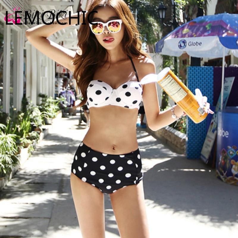 ФОТО High quality New stylish  Womens Swimsuit Ladies Sexy Bikini Set Push Up Swimwear  Bathing Suit Beachwear