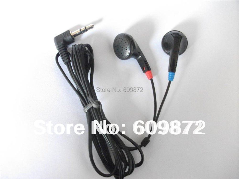 Disposable earbuds with earpads & 1.2M cord , $449 per 500 pcs , DHL free Shipping