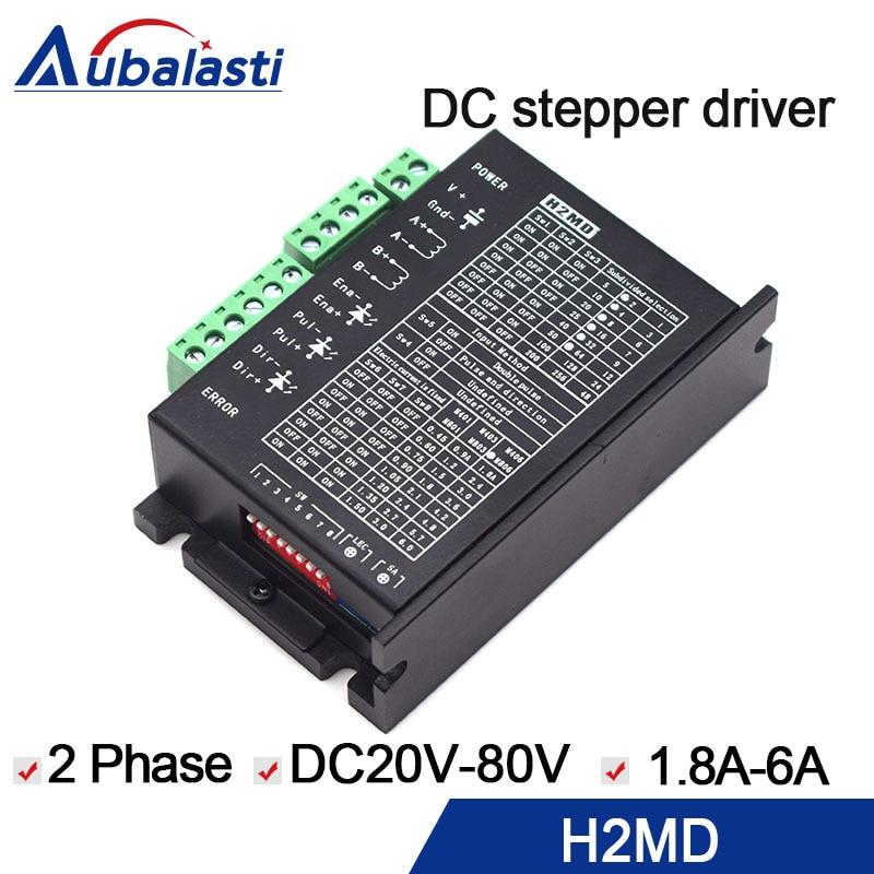 YUEMING laser machine 2phase stepper driver H2MD input dc20 80v 6A use for yue ming laser