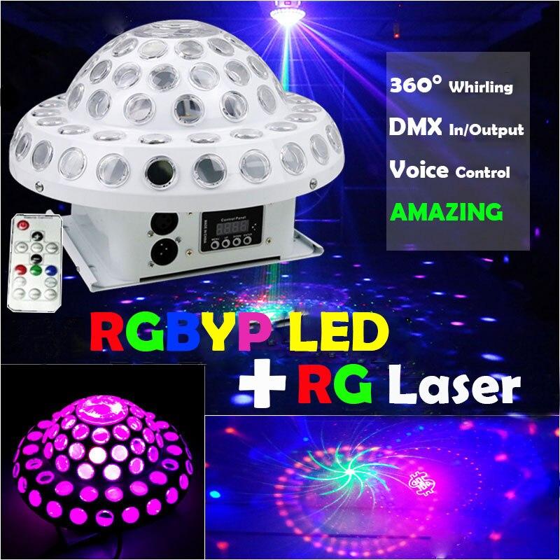 Projecteur d'étoiles de Laser de Cosmos de boule de Disco avec l'éclairage principal mobile de LED de rvb