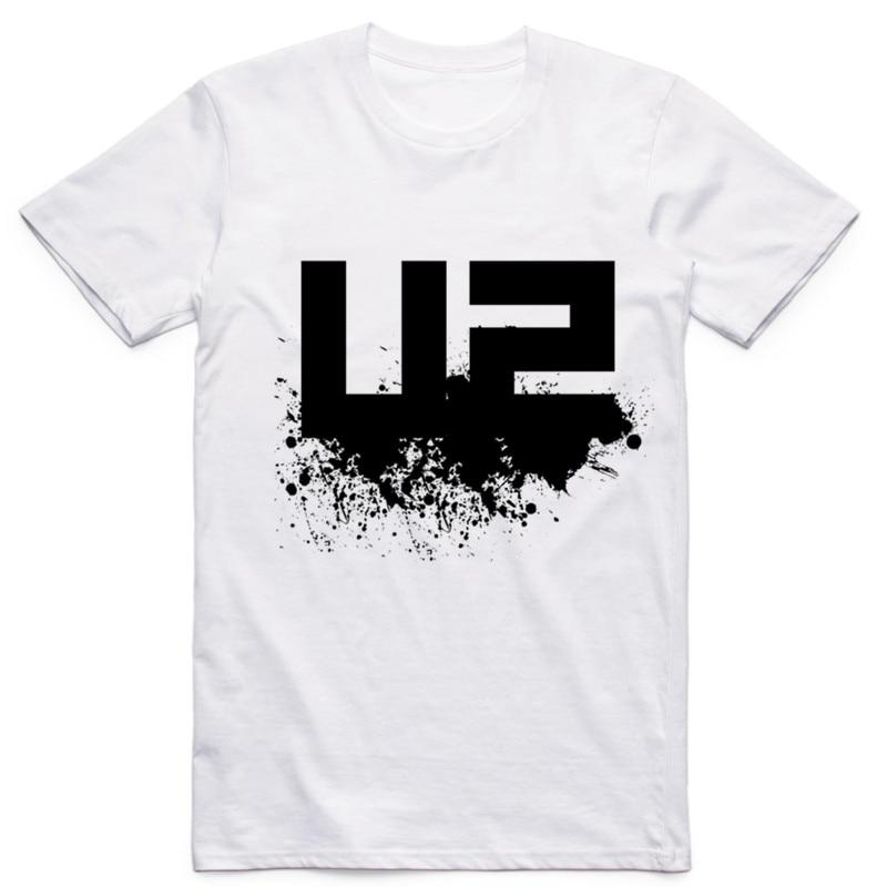 Plus größe, M ~ 5XL, 2017 U2 Rock Band Gedruckt t-shirt Herren...