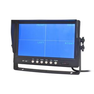 "Image 3 - DIYSECUR  9"" 4CH 4PIN 4 Split Quad Screen Color Video Monitor Screen for Video Surveillance System"