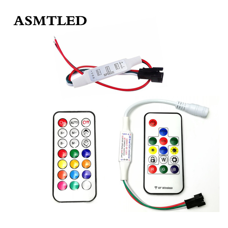 Ws2812 Sp103e 5v 12v 14key Rf Rgb Rgbw Wireless Controller Remote Mini Rf Led Strip Lamp Ws2811 Ws2812 Ws2812b Controller Remote Factory Direct Selling Price Rgb Controlers Lights & Lighting