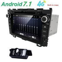 HD Quad Core A9 1 6GHz 1024X600 Android 5 1 1 Car DVD Player For Honda