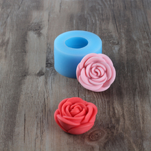 Soap-Mold Mould Candle Chocolate Rose Silicone Handmade DIY 3D Jelly-Tool Pudding