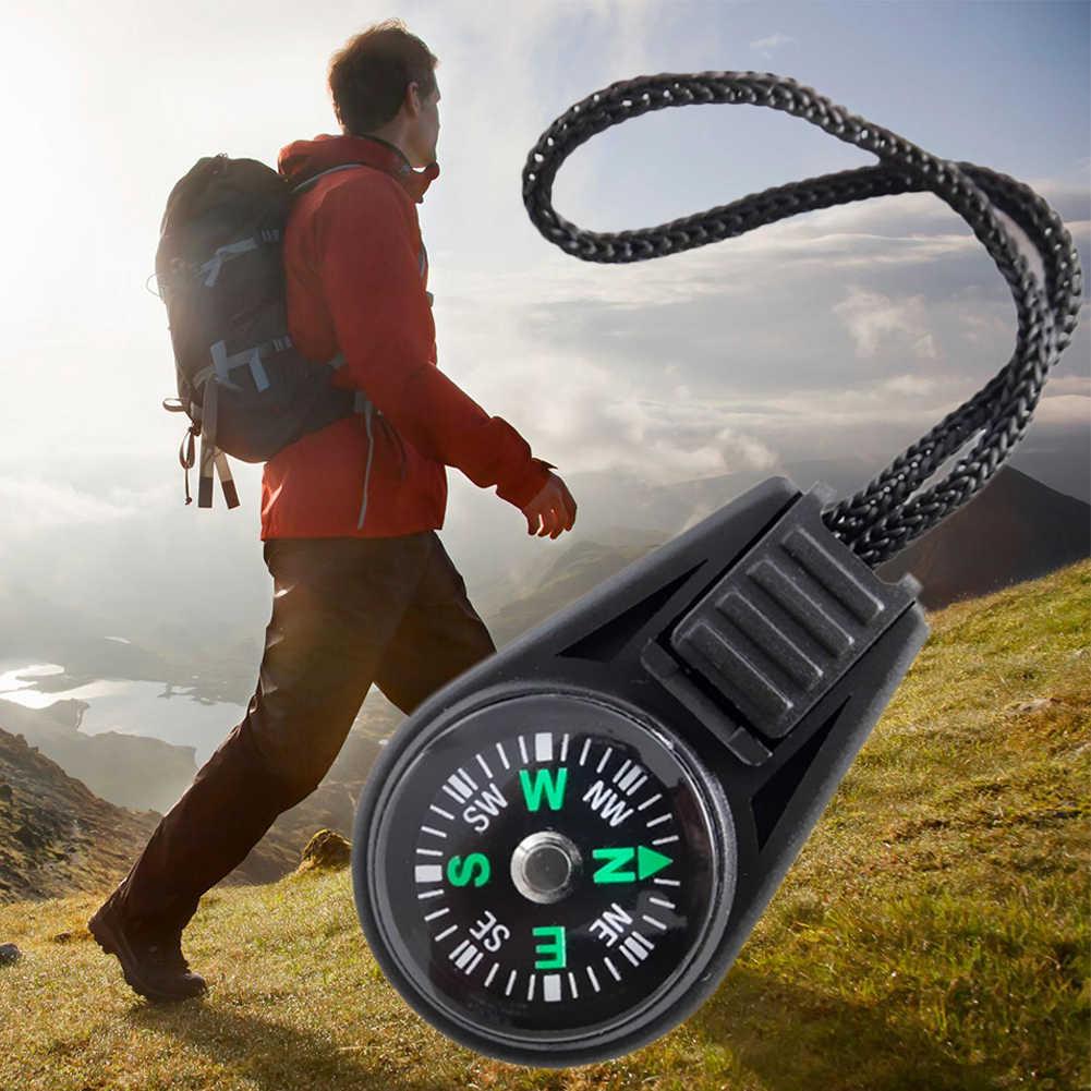 Мини 2 см 360 градусов Регулируемая направляющая навигатор для кемпинга Спелеология пеший туризм с слинг/ремешок Открытый Инструменты
