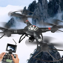 Large professional rc drone Q303 2.4G 4CH 6 Axis One Aixs Gimbal 5.8G FPV RC Helicopter can with 720P or 1080P HD camera vs X8HG