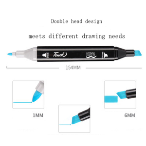 Image 3 - 30/40/60/80 Colors Art Markers Set Dual Head Alcohol Sketch Markers Pen For Manga Drawing Markers Dsign Animation Manga Draw