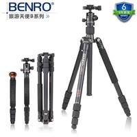 Benro A2682TB1 Tripod Aluminum Tripod Kit Monopod For Camera With B1 Ball Head Carrying Bag Max Loading 12kg DHL Free Shipping