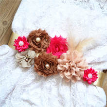 Get more info on the European And American Hot Brides, Pregnant Women,  Flowers, Belts,, And Sweet Flowers. Maternity Belt Belly Band