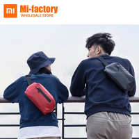 original Xiaomi 90Fun Waist Bag Fashion function Waist Packs Warning light bar Money Phone Belt bag Pouch waterproof