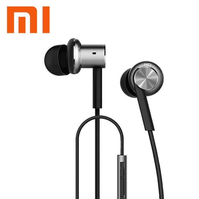 Original XIAOMI Hybrid Piston Dual Driver Earphone Stereo In-Ear Circle Iron Dynamic Balanced-Armature Mic For Xiao Mi Android