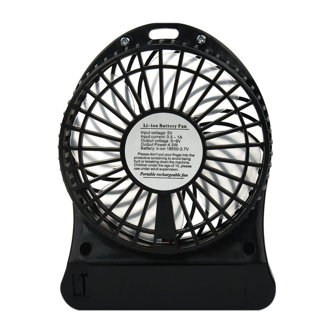Fashion Latest Portable Rechargeable LED Fan air Cooler Mini Operated Desk USB 18650 Battery