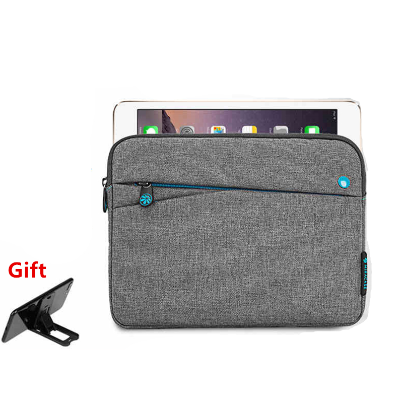 Soft Shockproof Tablet Sleeve Pouch Bag for Apple ipad Air 1/Air 2 Cover Case for iPad 5 iPad 6 ipad Pro 9.7 +Film+Tablet Stand new brand bubm case for ipad air pro 9 7 storage bag for ipad mini tablet 7 9 pouch for 7 9 tablet free drop ship