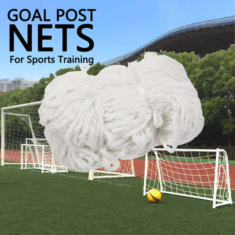 High Quality Soccer Goal Mesh Net Football Soccer Goal Post Net For Sports Training Match Replace Children Kid Gift