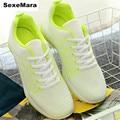 Wedges Women 2016 Breathable Net cloth Fashion casual Walking shoes Outdoors joker Brand zapatillas deportivas mujer size 39-40