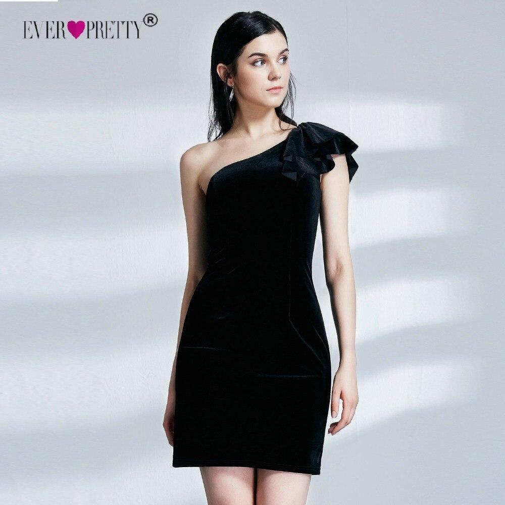 Вечерние платья Ever-Pretty EP04091BK горячая Распродажа женские модные сексуальные бархатные Короткие Выпускной Вечеринка Abendkleider платья