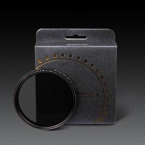 """Image 5 - זכוכית דק ZOMEI ND2 400 צפיפות ניטרלי מדעך מסנן ND משתנה מתכוונן 49/52/55/58/62/67/72/77/82 מ""""מ"""
