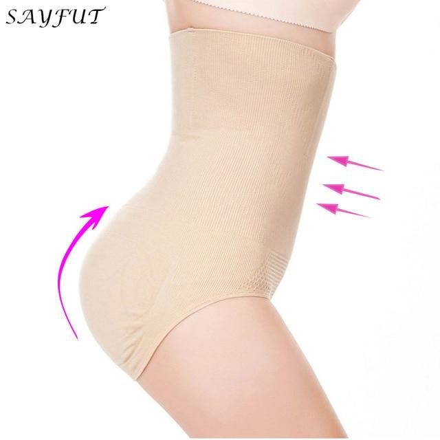d2685d328fb28 SAYFUT Women Seamless Tummy Belly Control Waist Slimming Shapewear Shaper  Panty H-waist Corset Panties